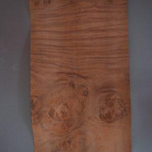 Myrtle burl figured veneer sheet