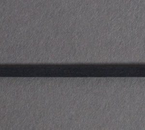 stringing flat dyed black