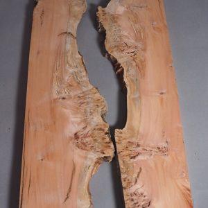 book matched myrtle timber slab