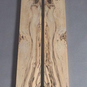 pair of spalted sassafras boards
