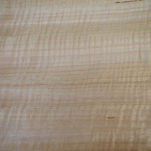Sheet of Eucalypt/Tas Oak timber veneer up close