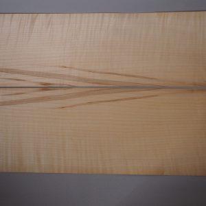 book matched maple veneer