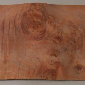 Beautiful Myrtle Burl veneer sheet