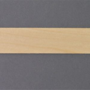 Wide Strip of Maple Timber Veneer