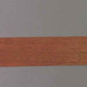 wide strip of Mahogany timber veneer