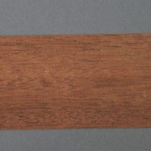 Strip of wide Mahogany timber veneer