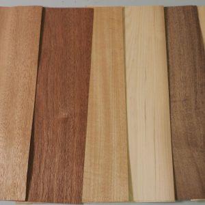 various veneer sheets