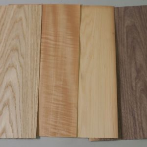 nice range of different timber veneer sheets