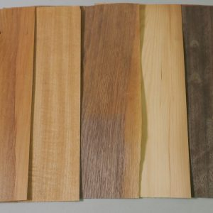 nicely coloured group of veneer sheets