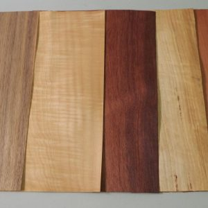 dark and light coloured timber veneer sheets