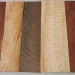 mixed of timber veneer sheets