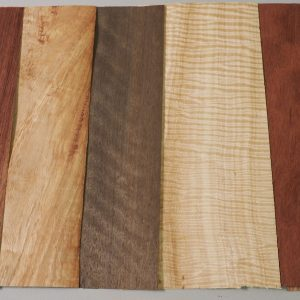 mixed of timber veneer sheets